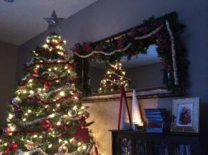 Rachel's tree is so festive