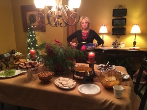 The dessert table… which I hit pretty hard this year.